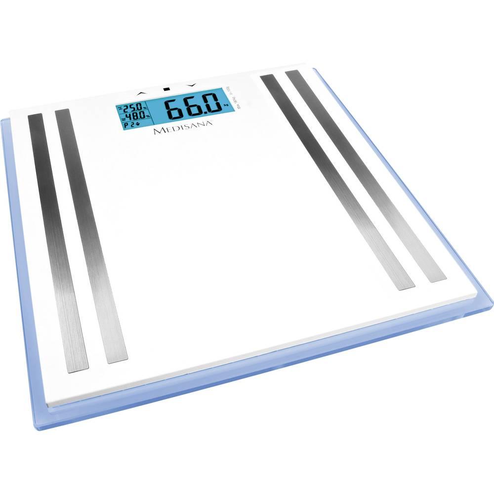 Osobna vaga za tjelesnu analizu Medisana ISA raspon vage (maks.)=150 kg bijela