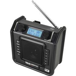 DAB+ Radio til byggepladsen PerfectPro Soliddigital Sort