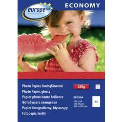 Europe 100 fotografski papir, sijoč, EPC004, DIN A4, 210 g/m, 100 listov