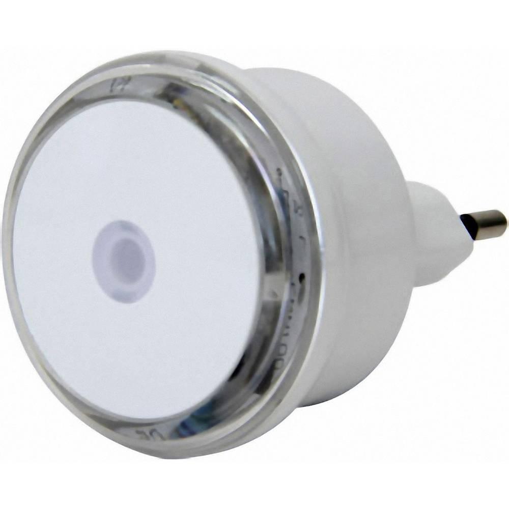 Nočna lučka GAO, okrogla, LED, bele barve, EMN100