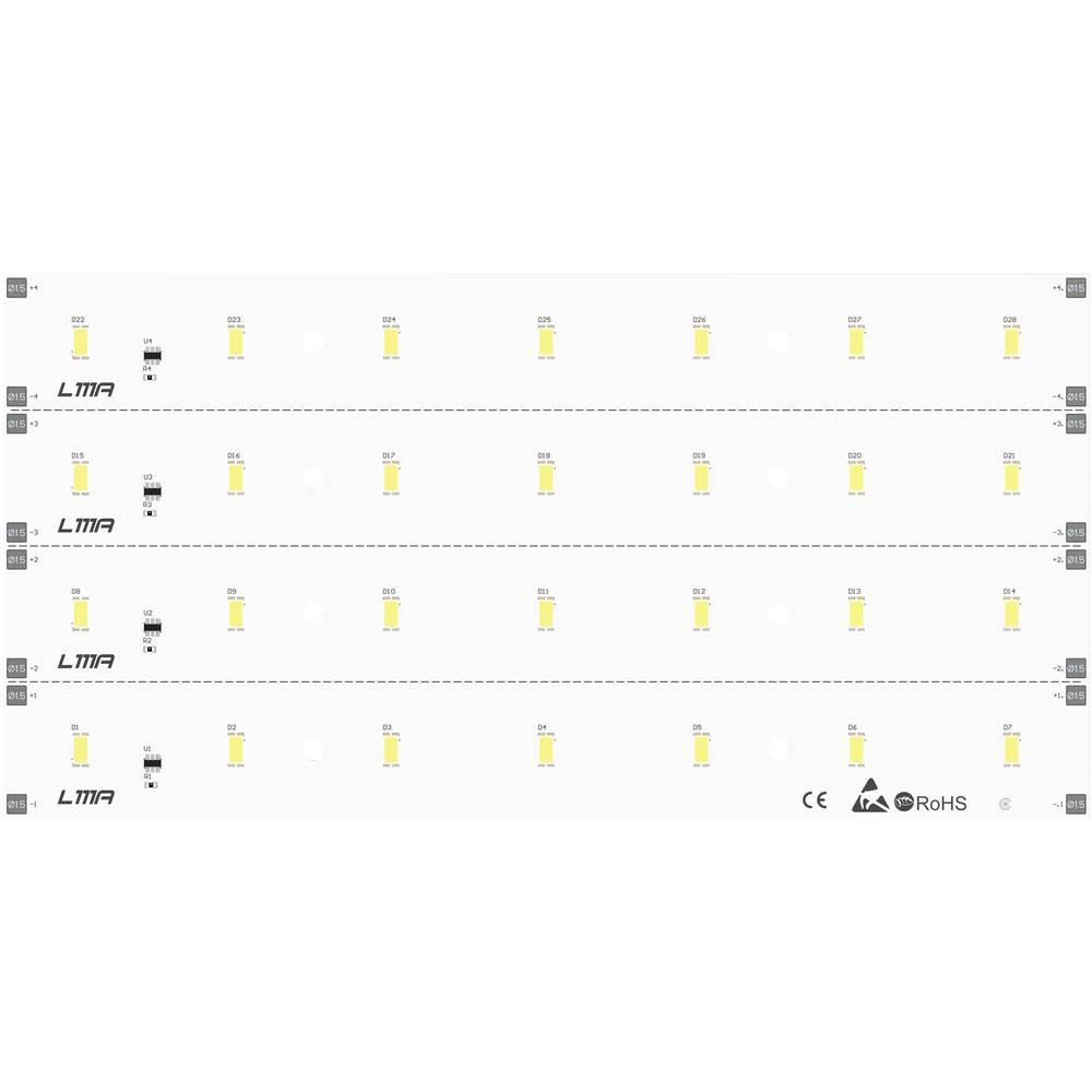LED modul, bela 12.48 W 1297 lm 120 ° 24 V Barthelme 50752033