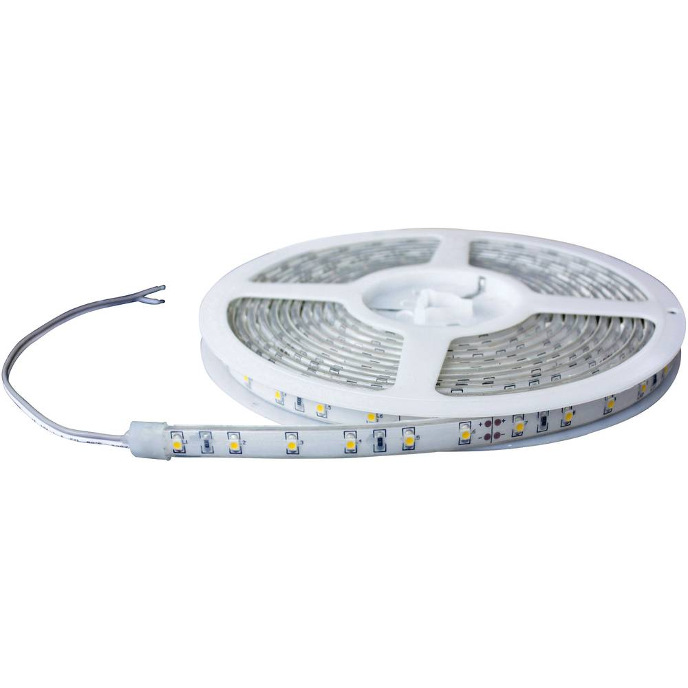 LED trak 24 V 5000 mm zelena