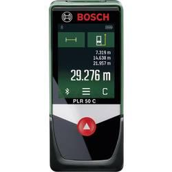 Laseravståndsmätare Bosch Home and Garden PLR 50 C Touchscreen, Bluetooth, Dokumentations-App 50 m