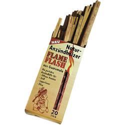 Prirodni drveni štapići za paljenje vatre 200 115 Swissinno Flame-Flash, 20 kom. u setu