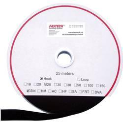 Sprijemalni trak za prišivanje, oprijemen del (D x Š) 25000 mm x 16 mm črna Fastech T0101699990125 25 m