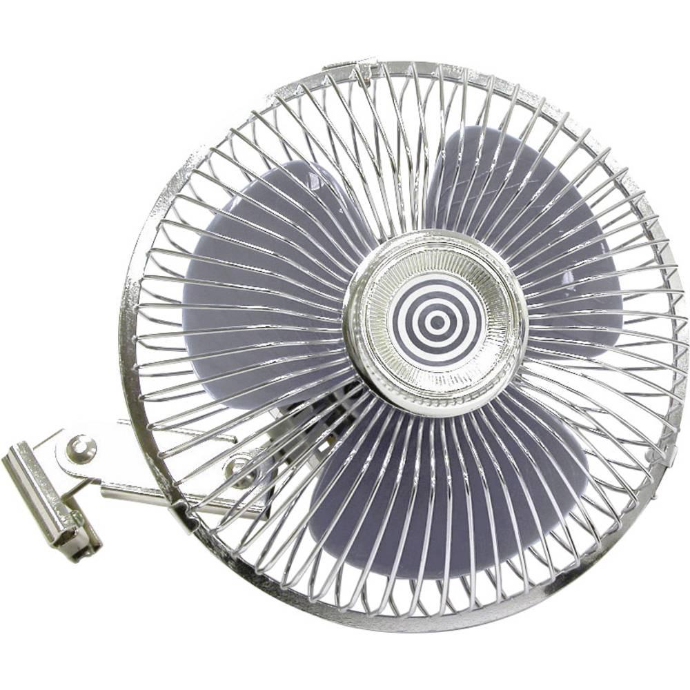 Ventilator 12 V HP automobilski pribor, ventilator s metalnom mrežom