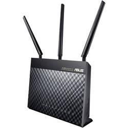WLAN ruter s modemom Asus DSL-AC68U ugrađeni modem: VDSL, ADSL2+, ADSL 5 GHz, 2.4 GHz 1900 MBit/s