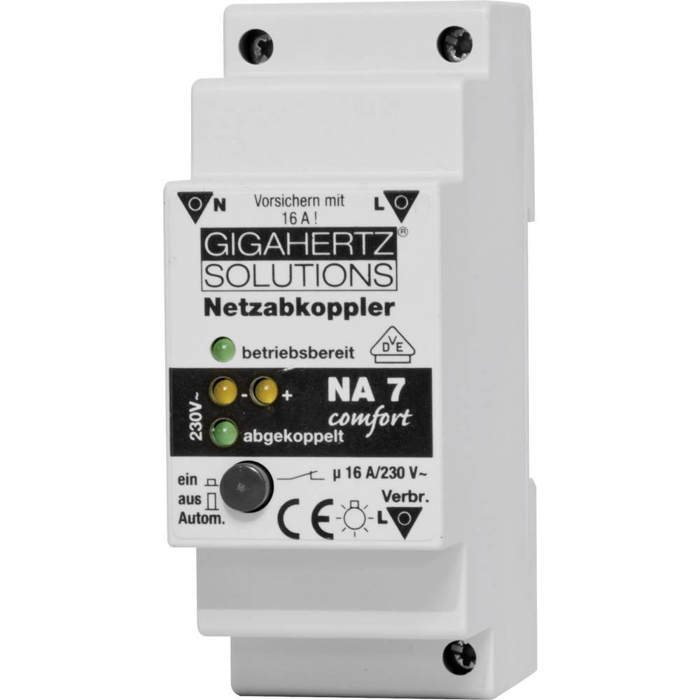 Omrežni izklopilni rele NA Comfort z VDE Gigahertz Solutions NA7 valovanje 4 mV