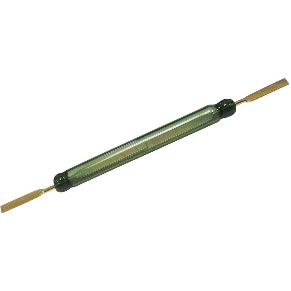 Reed-kontakt 1 x sluttekontakt 250 V/DC, 250 V/AC 1.3 A 80 W Glaskolbelængde:52 mm Comus GC 1525(8090)