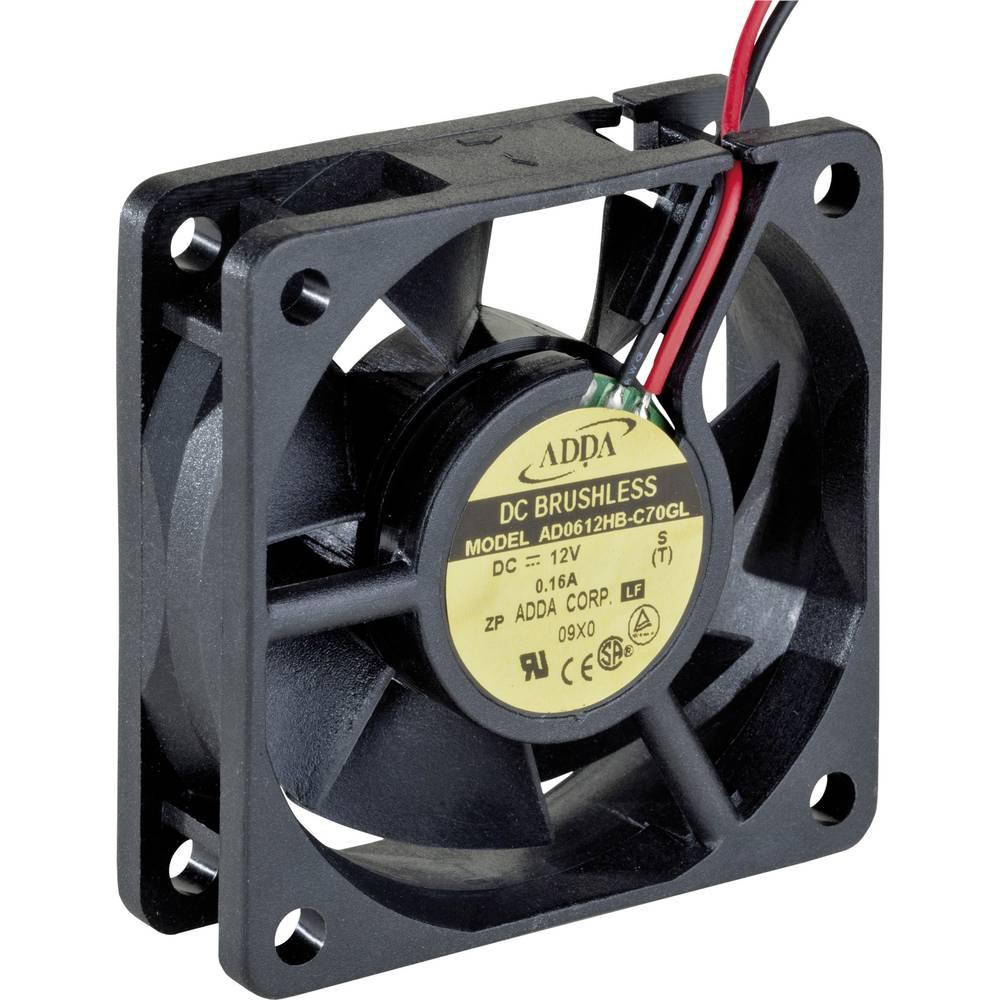 Aksialni ventilator 12 V/DC 29.0 m/h (D x Š x V) 60 x 60 x 20 mm ADDA AD0612HB-C70GL