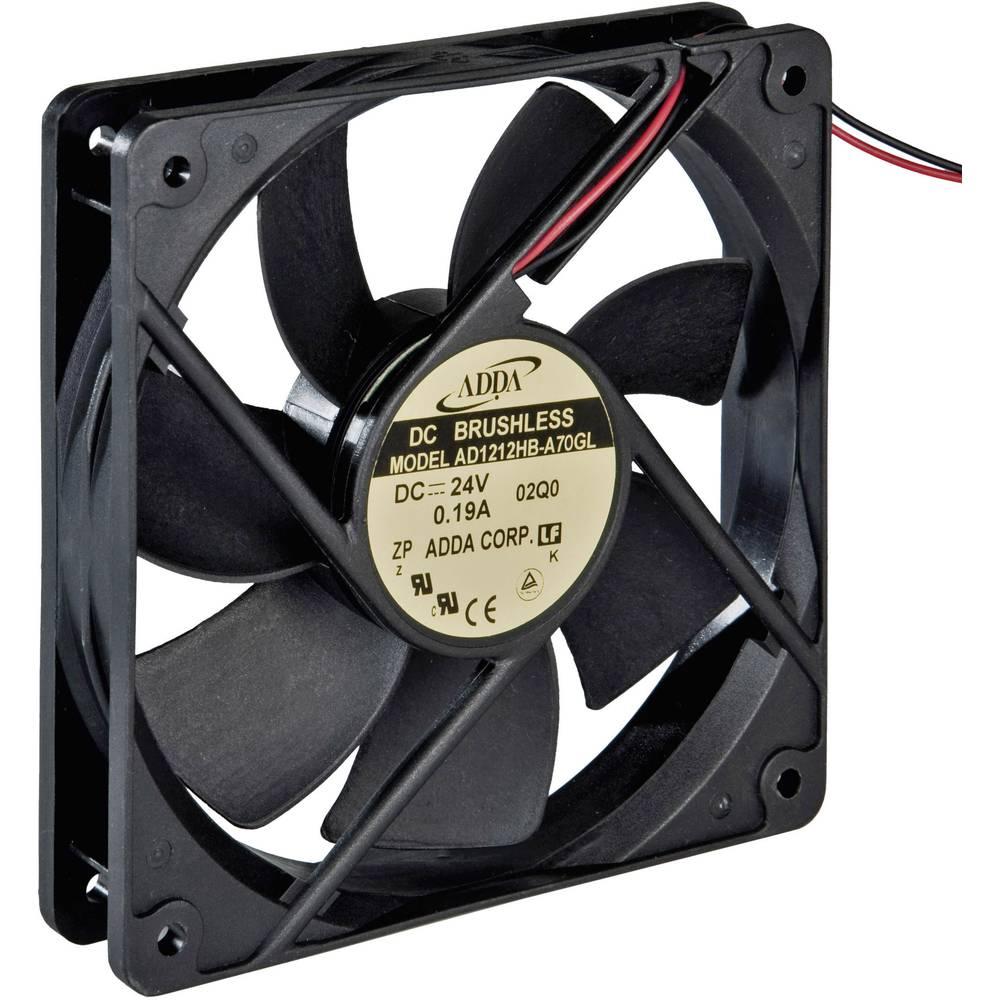 Aksial ventilator 12 V/DC 149.4 m³/h (L x B x H) 120 x 120 x 25 mm ADDA AD1212HB-A70GL