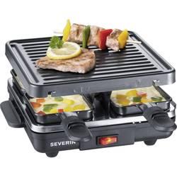Raclette roštilj Severin RG 2686 4 tavica, crne boje