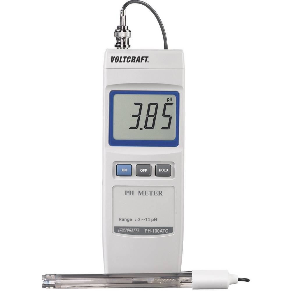 VOLTCRAFT PH-100 ATC digitalni pH-Meter 0 - 14 pH