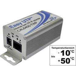 Razširitev omrežja preko 2 žic, domet (maks.): 500 m brez PoE funkcije 100 MBit/s