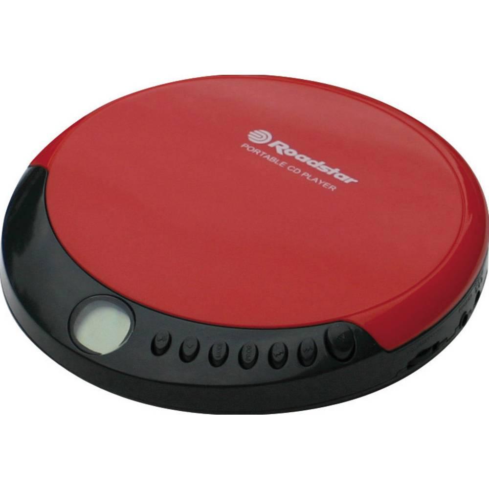Prijenosni CD reproduktor Roadstar PCD-4356CD crvena, CD, CD-R, CD-RW