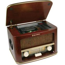 FM Bordsradio Roadstar HRA-1500MP AUX, CD, MW, FM Trä