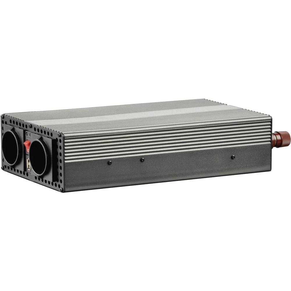 Pretvornik VOLTCRAFT MSW 1200-12-F 1200 W 12 V/DC 10.5 - 15 V/DC vijačni zaščiteni kontakti-vtičnica F