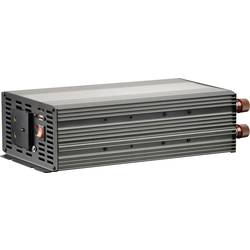 Inverter VOLTCRAFT MSW 2000-24-UK 2000 W 24 V/DC 21 - 30 V/DC Skrueklemmer Beskyttelseskontakt-stikdåse UK