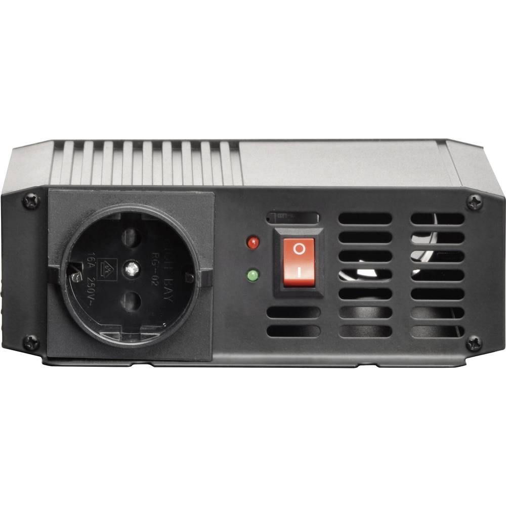 Razsmernik VOLTCRAFT PSW 300-12-G 300 W 12 V/DC 10.5 - 15 V/DC in vtičnica z zaščitenimi kontakti
