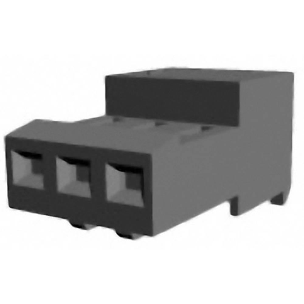 Bøsningsliste (standard) MTA-100 Samlet antal poler 9 TE Connectivity 3-640441-9 1 stk