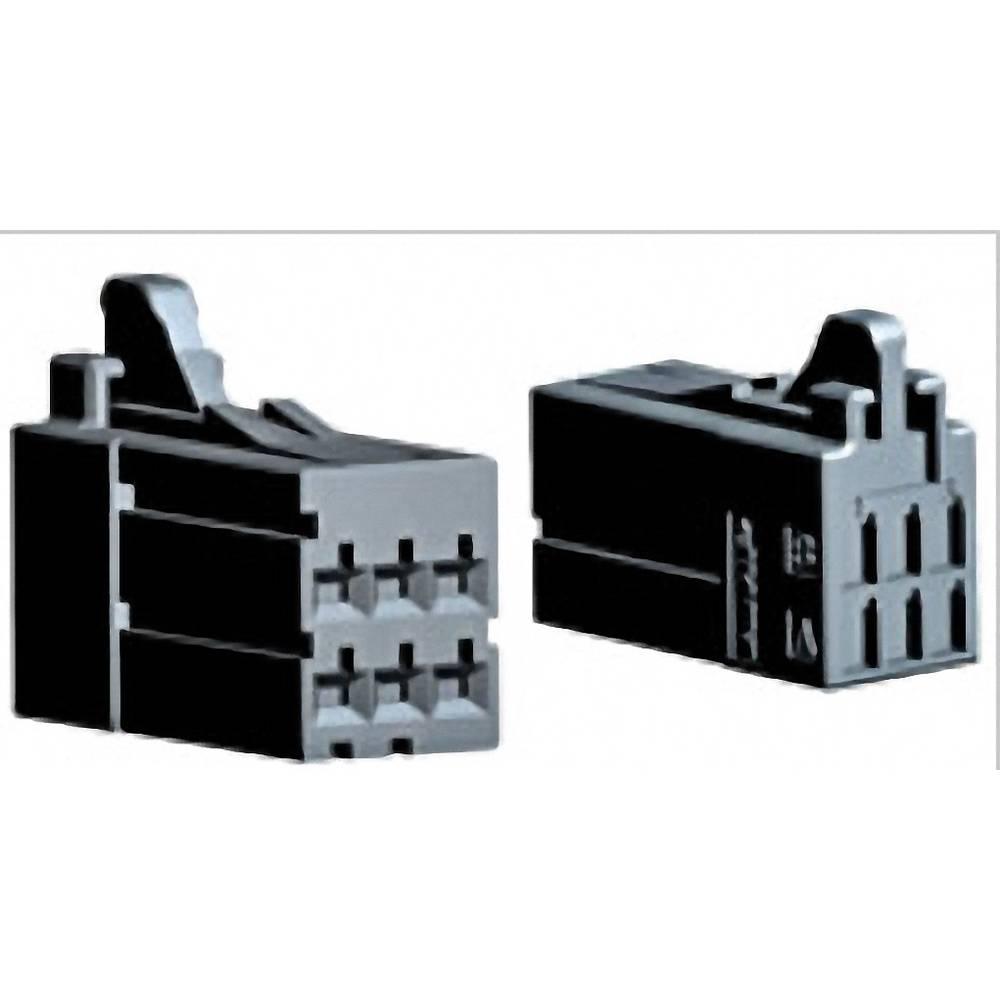 Tilslutningskabinet-kabel DYNAMIC 2000 Series Samlet antal poler 6 TE Connectivity 1-1318119-3 1 stk
