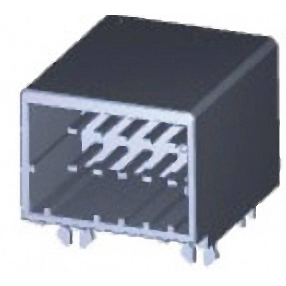 Indbygningsstiftliste (præcision) DYNAMIC 2000 Series Samlet antal poler 12 TE Connectivity 1376020-1 1 stk