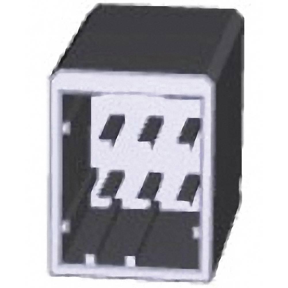 Indbygningsstiftliste (præcision) DYNAMIC 2000 Series Samlet antal poler 6 TE Connectivity 1318124-2 1 stk