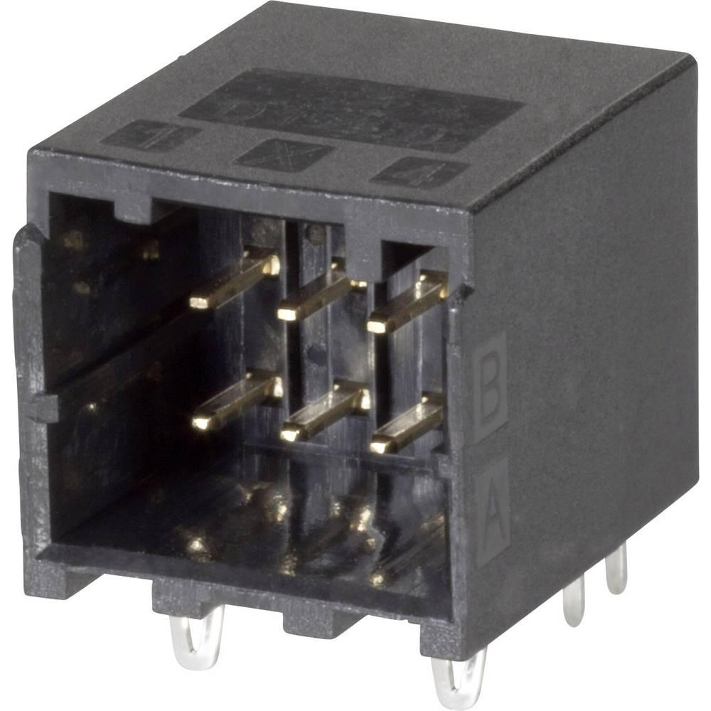 Indbygningsstiftliste (præcision) DYNAMIC 1000 Series Samlet antal poler 8 TE Connectivity 1-1827876-4 1 stk