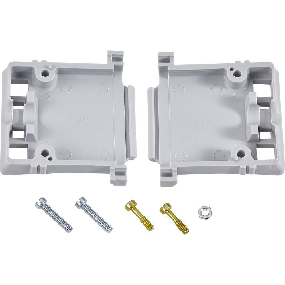 D-SUB ohišje, število polov: 15 iz termoplastične umetne mase 90 °, 180 ° sive barve TE Connectivity AMPLIMITE HD-20 (HDP-20) 1