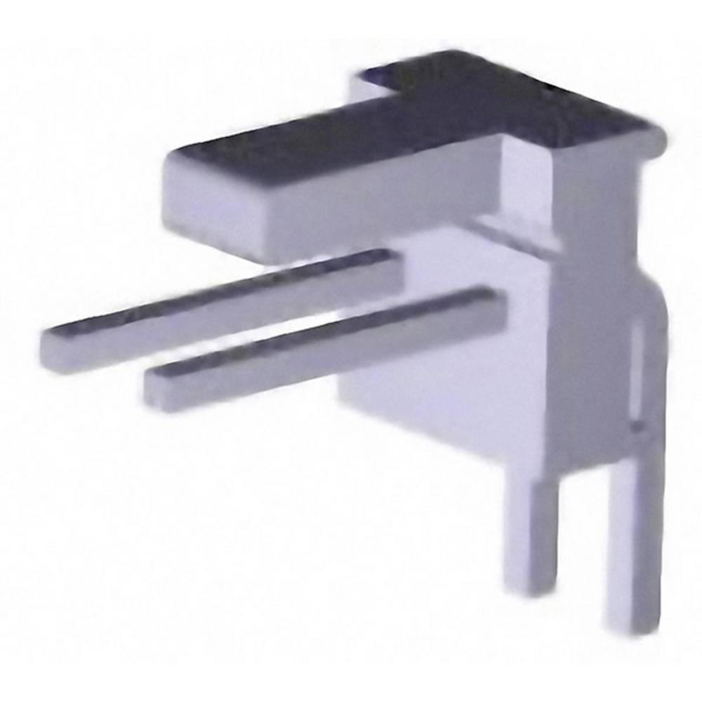 Stiftliste (standard) MTA-100 (value.1360526) Samlet antal poler 2 TE Connectivity 640455-2 1 stk