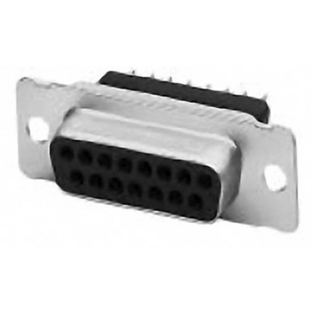 D-SUB vtične letve 180 ° število polov: 25 Print TE Connectivity AMPLIMITE HD-20 1 kos