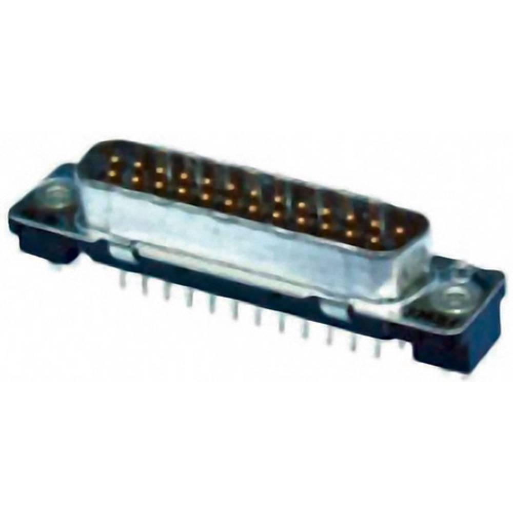 D-SUB pinska letev 180 ° število polov: 9 Print TE Connectivity AMPLIMITE HD-20 1 kos