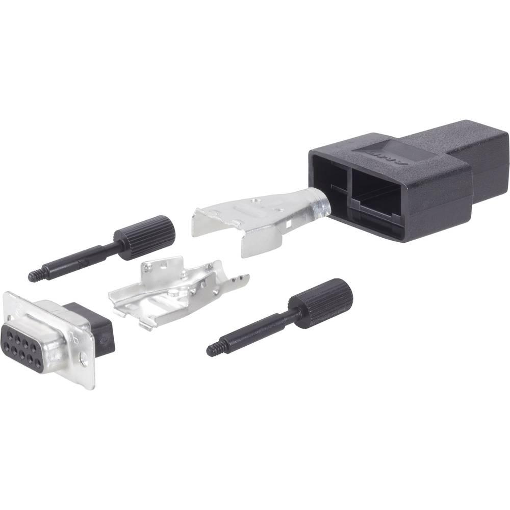 D-SUB vtičnica 180 ° število polov: 37 TE Connectivity AMPLIMITE HD-20 (HDP-20) 1 kos