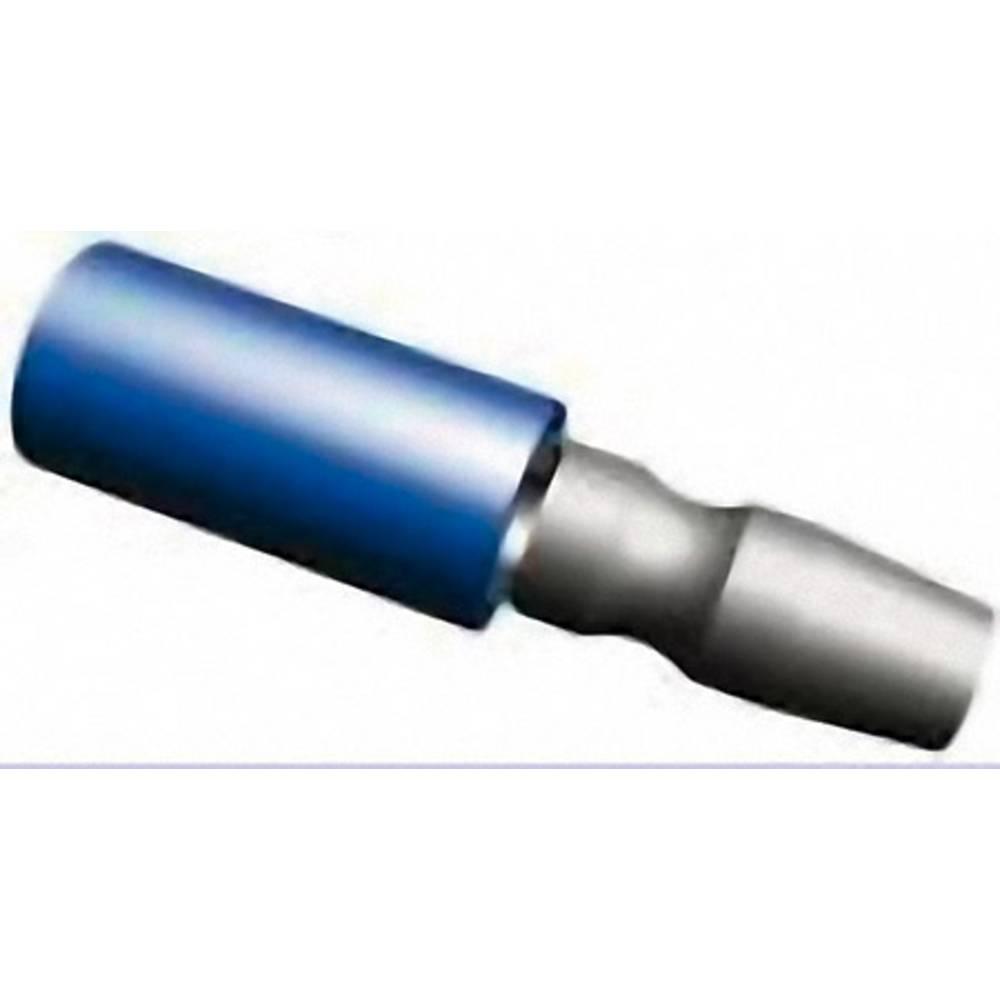 Okrugli utikač 0.205 mm 1.60 mm potpuno izolirana, plave boje TE Connectivity 165590-1 1 kom.