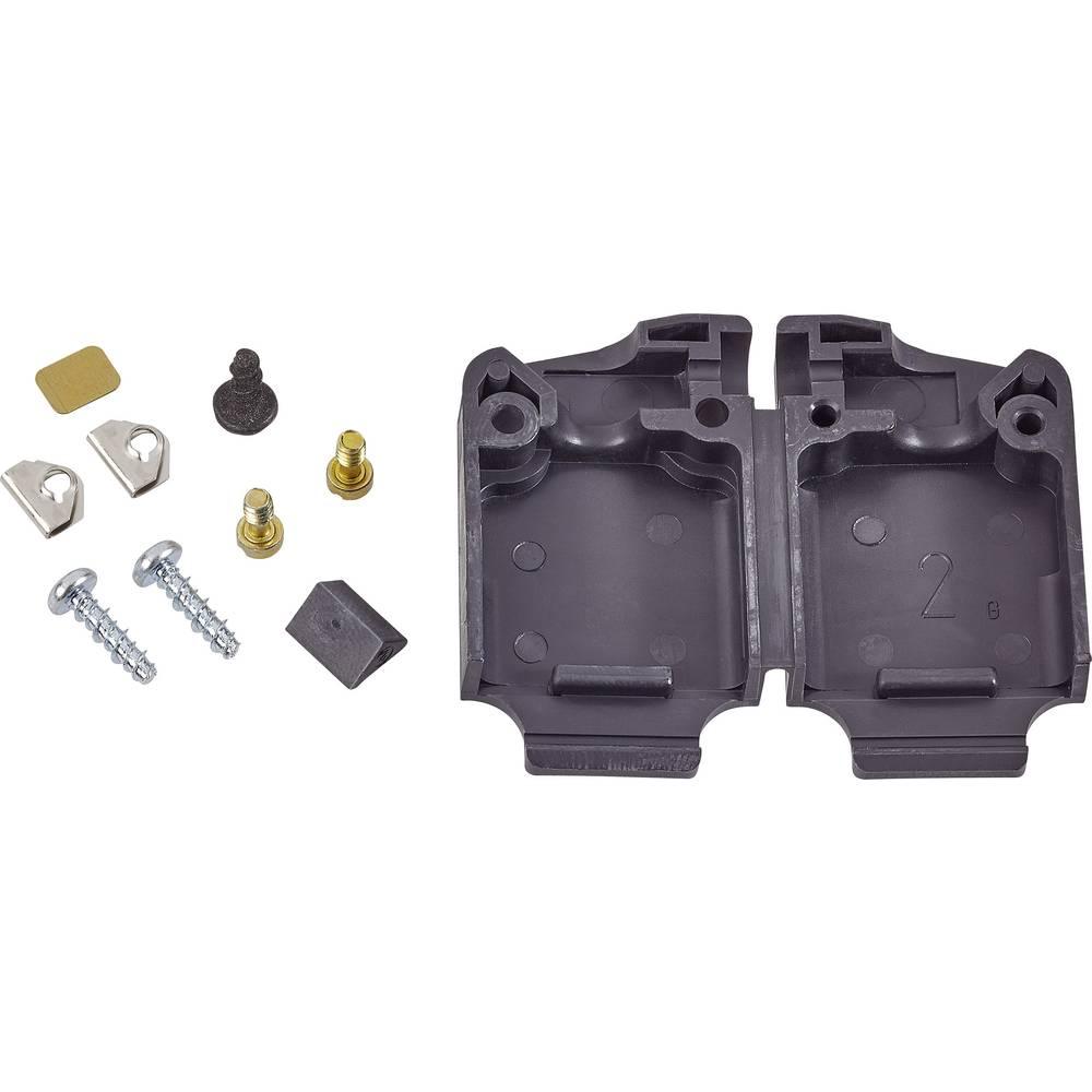 D-SUB ohišje, število polov: 25 iz termoplastične umetne mase 45 °, 180 ° črne barve TE Connectivity AMPLIMITE HD-20 (HDP-20) 1