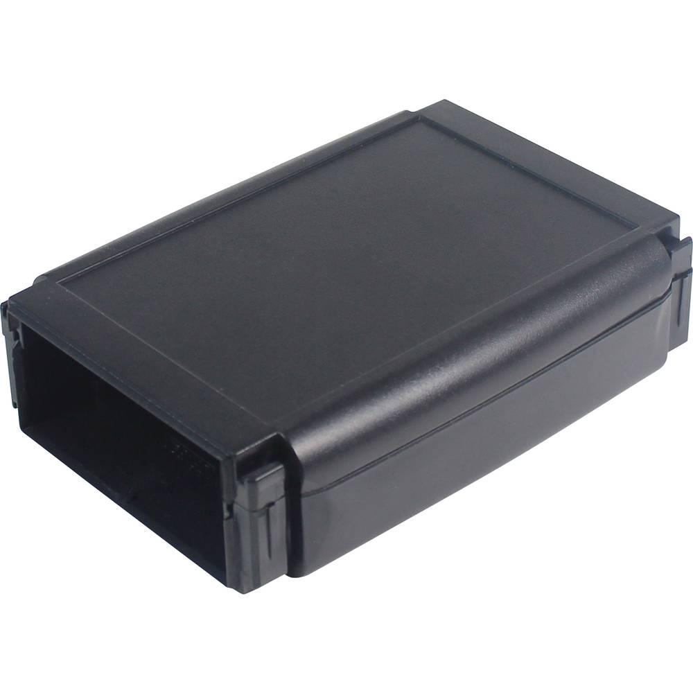 Hånd-kabinet Axxatronic CHH643NBK 120 x 80 x 20 ABS Sort 1 stk