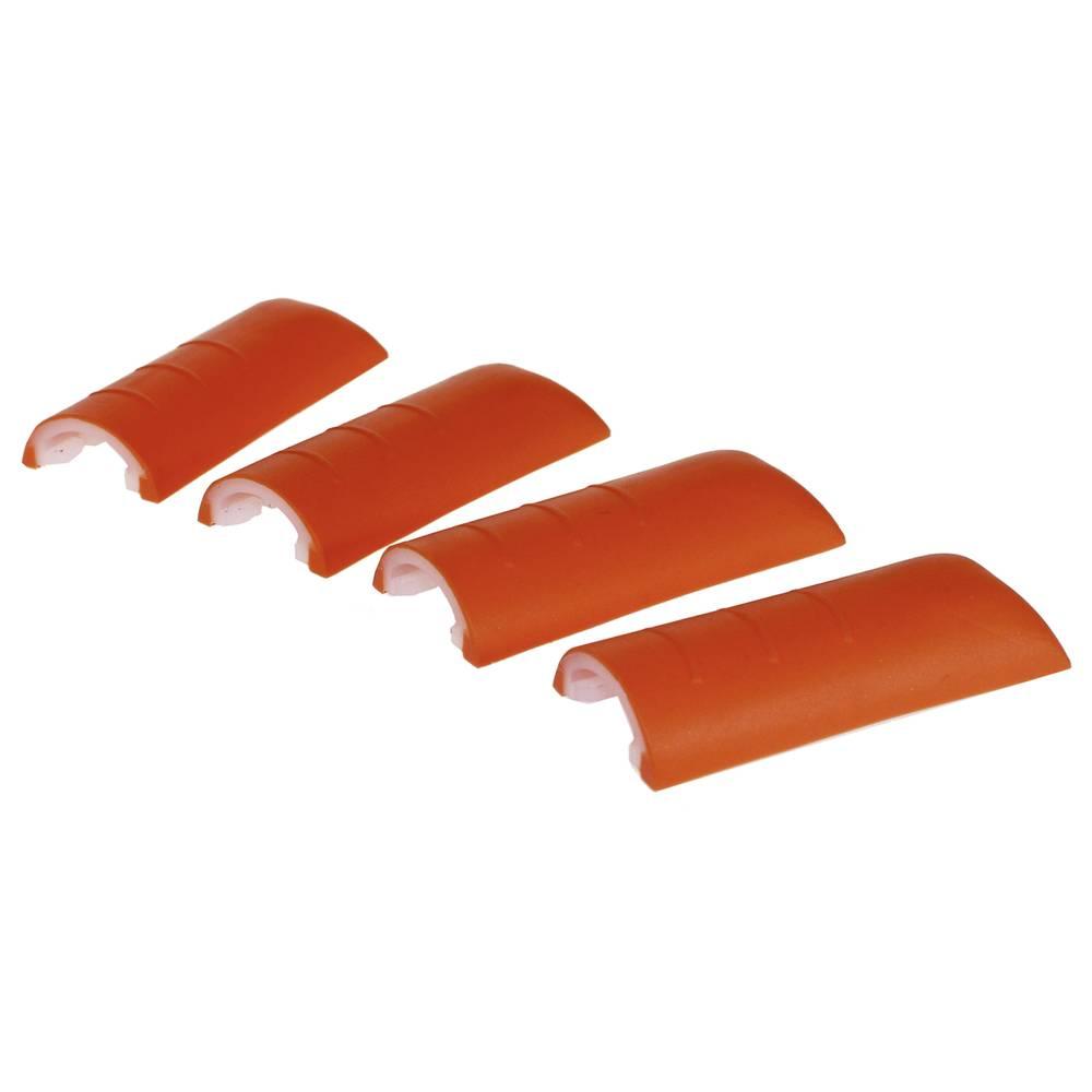 Hushjørner Axxatronic CHH66C2RD Plast Rød 4 stk