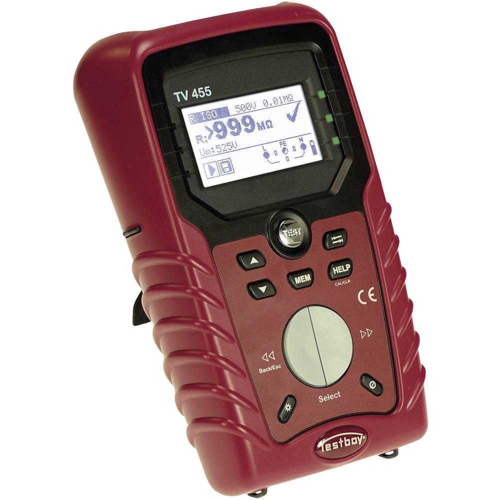 Kalib. ISO-Tester instalacija Testboy TV455, sukladno s VDE 0100-600