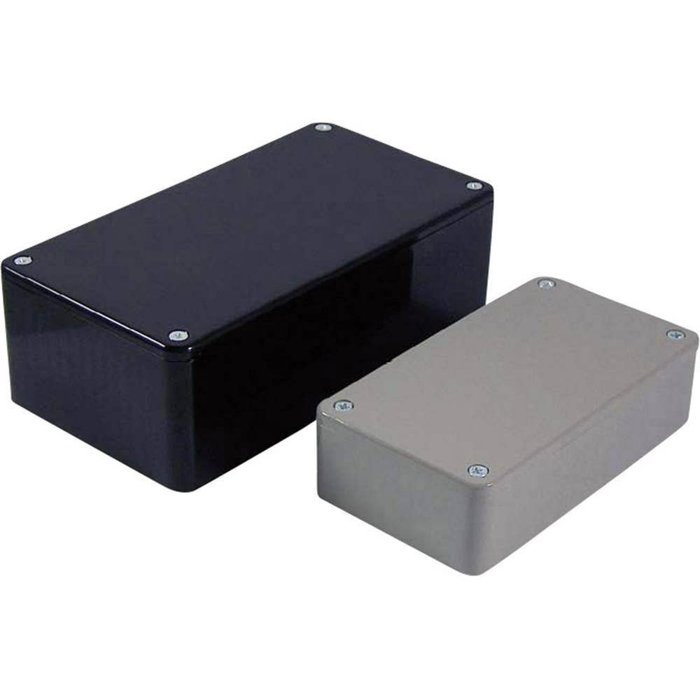 Universalkabinet 190 x 110 x 60 ABS Sort Axxatronic BIM2006/16-BLK/BLK 1 stk