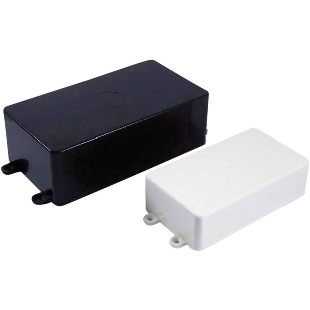 Universalkabinet 132 x 62 x 31 ABS Sort Axxatronic BIM2003/LUG-BLK/BLK 1 stk