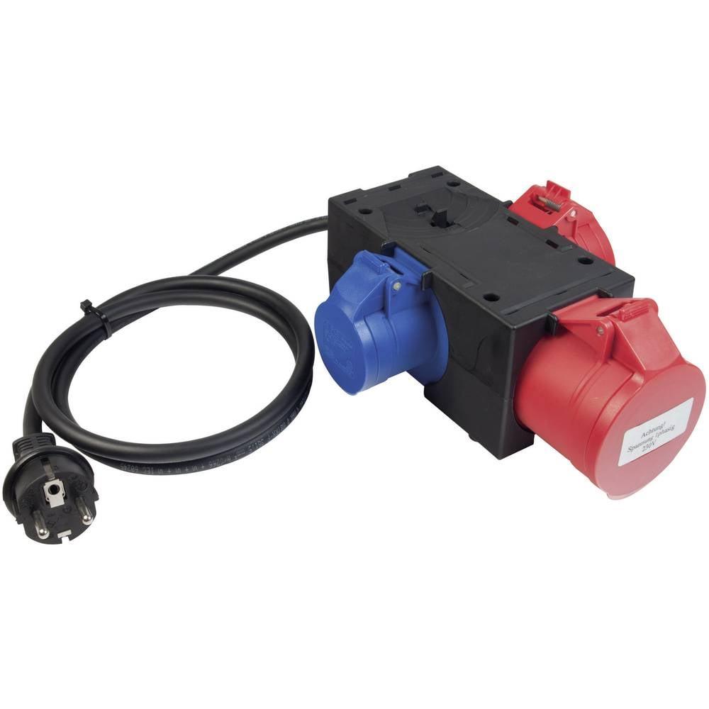 3-polni merilni adapter Benning, CEE 044147
