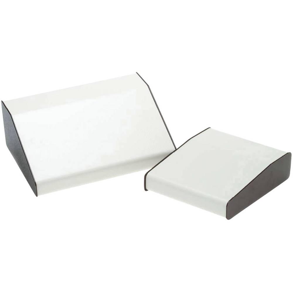 Pult-kabinet Axxatronic RTM2704-BR/B 210 x 483 x 106 Aluminium Hvid, Brun 1 stk