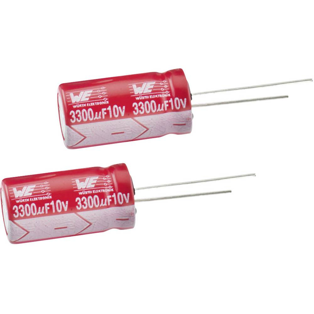 Elektrolitski kondenzator, radijalno ožičen 5 mm 470 µF 16 V 20 % (promjer x V) 10 mm x 12.5 mm Würth Elektronik WCAP-ATLL