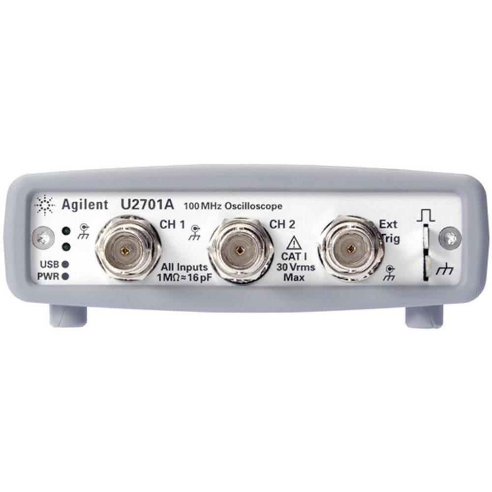 Kal.-ISO 2-kanalni USB-osciloskop za računalnik Keysight Technologies U2701A, pasovna širina 100 MHz U2701A OPT 902 + ABD
