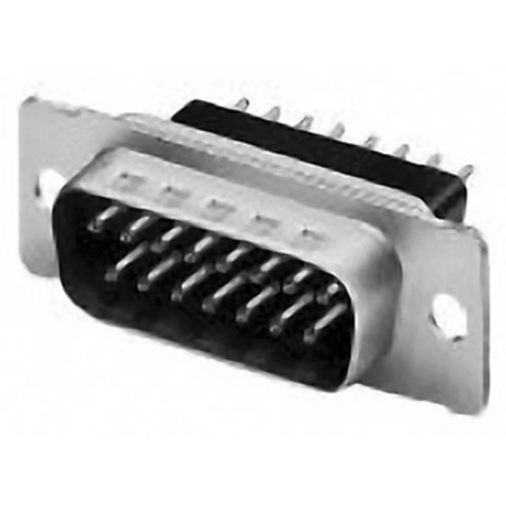 D-SUB pinska letev 180 ° število polov: 9 s spajkalno posodo TE Connectivity AMPLIMITE HD-20 1 kos