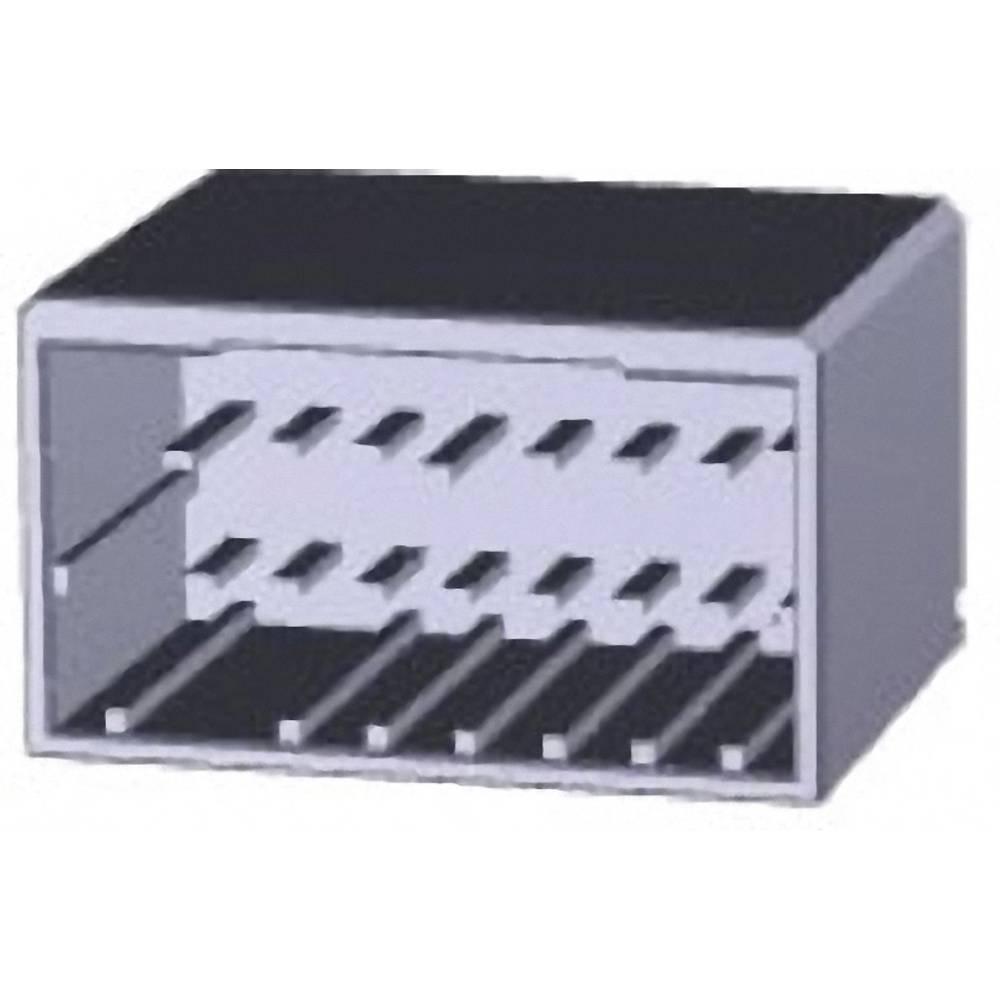 Indbygningsstiftliste (præcision) DYNAMIC 2000 Series (value.1360579) Samlet antal poler 16 TE Connectivity 1747994-1 1 stk
