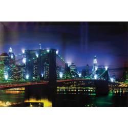LED slika Most 34010 Heitronic Dekorativna rasvjeta šarena LED čvrsto ugrađene
