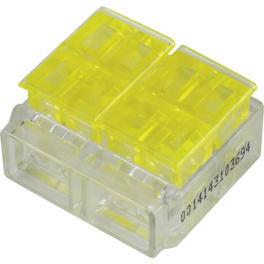 Enkeltladerstik ATT.CALC.CROSS_SECTION_FLEXIBLE: 1.5-2.5 mm² ATT.CALC.CROSS_SECTION_RIGID: 1.5-2.5 mm² Poltal: 4 1282786 1 stk G