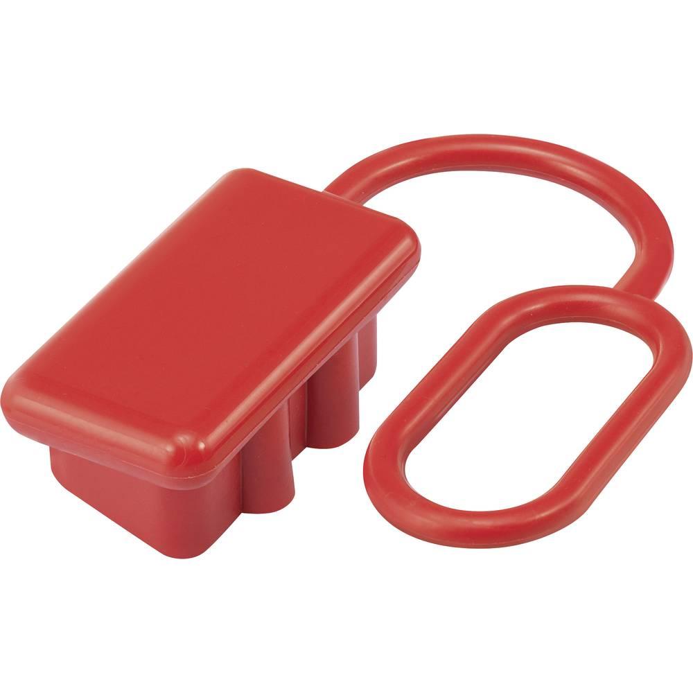 Støvhætte til 120 En høj strøm batteri stik Rød 1 stk