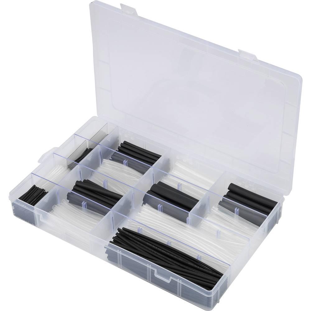Komplet skrčljivih cevi, črna in transparentna razmerje 2:1 · 3:1 · 4:1 1000 Teile črna, transparentna